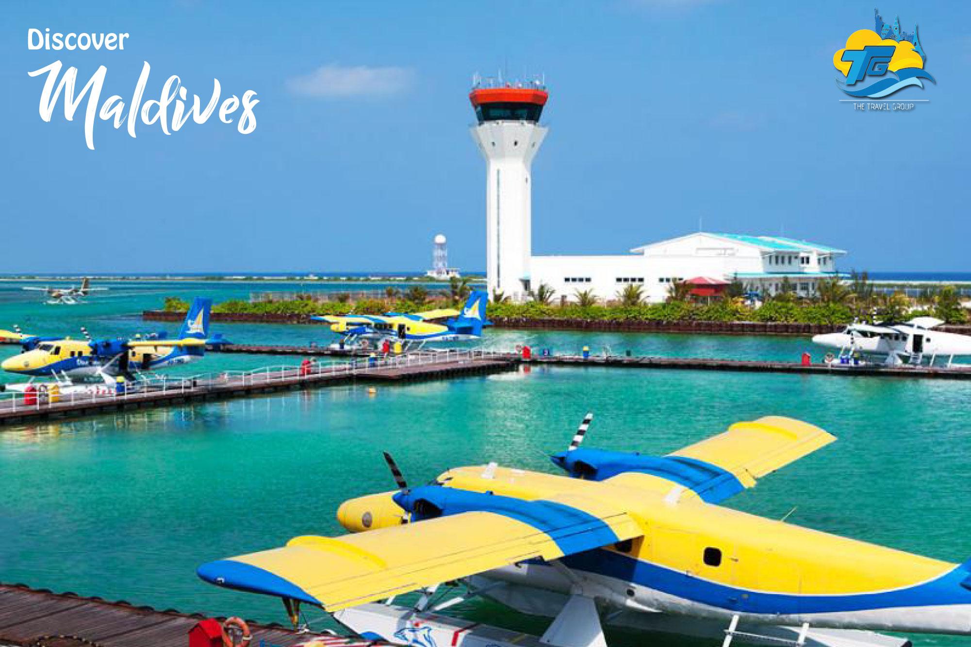 Male City & Airport, Maldives